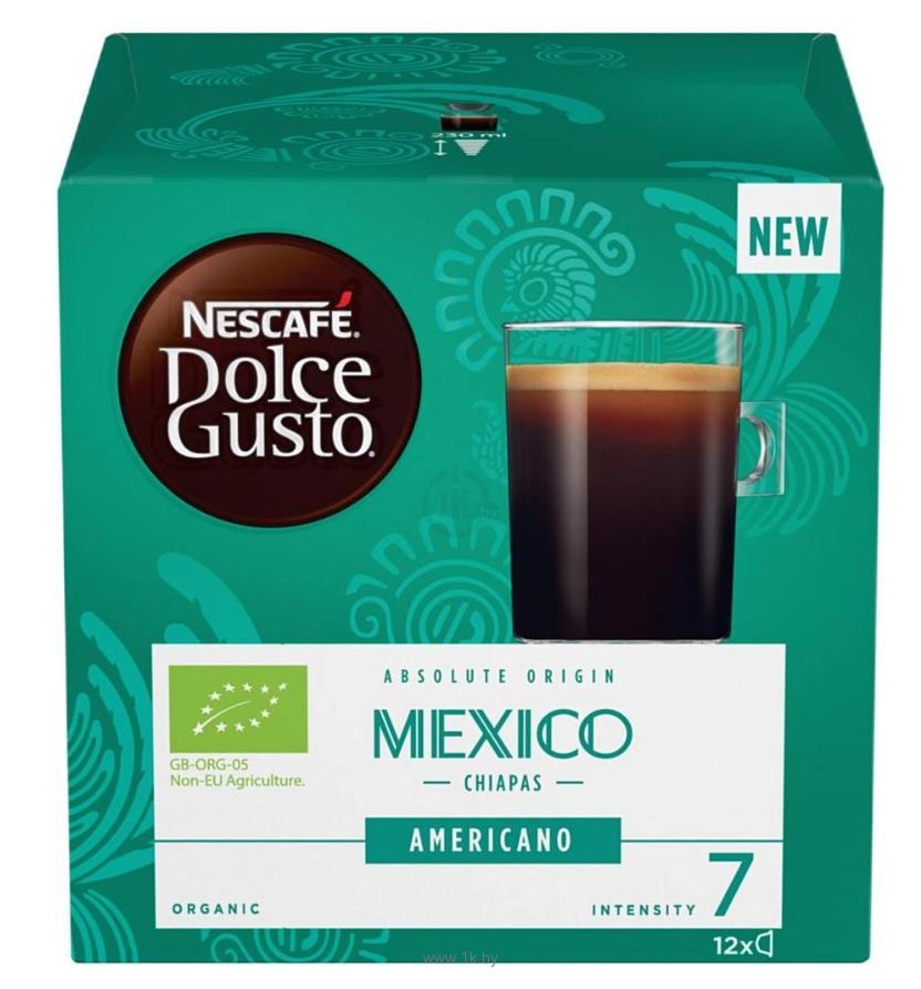 Фотографии Nescafe Dolce Gusto Mexico 12 шт