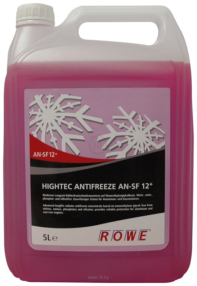 Фотографии ROWE Hightec Antifreeze AN-SF G12+ 5л