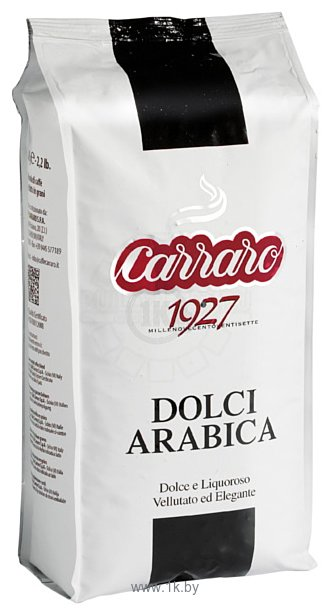 Фотографии Carraro Dolci Arabica в зернах 1000 г