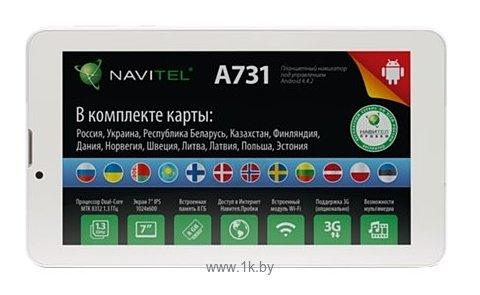 Фотографии Navitel A731