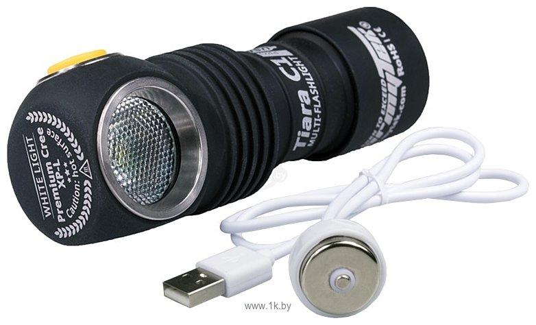 Фотографии Armytek Tiara C1 Pro XP-L Magnet USB (Warm) + 18350 Li-Ion