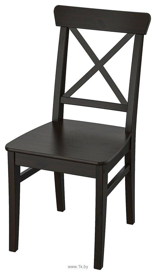 Фотографии Ikea Ингольф (коричнево-черный) (703.608.95)