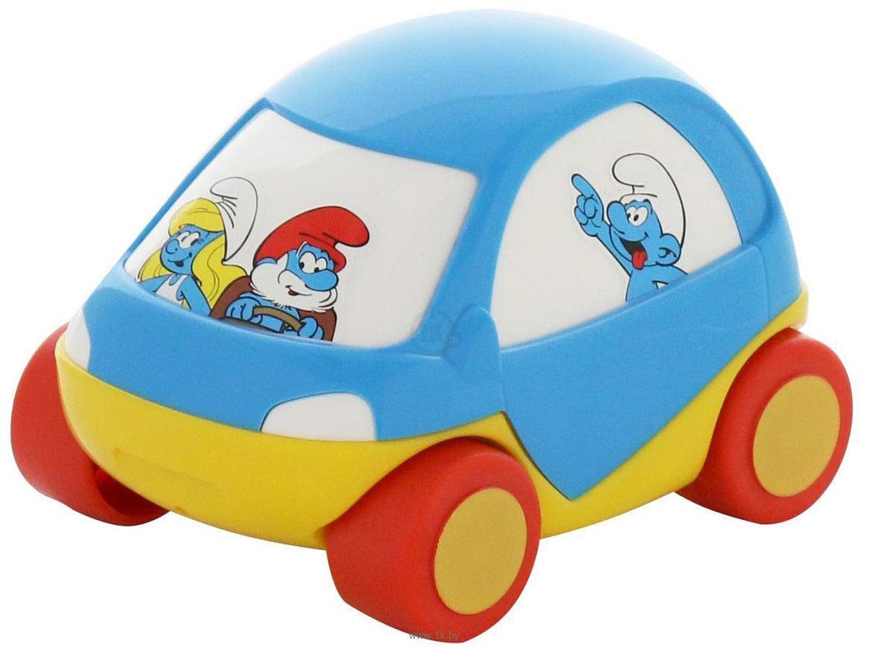 Фотографии Полесье Забавная детская машинка Смурфики №4 64530