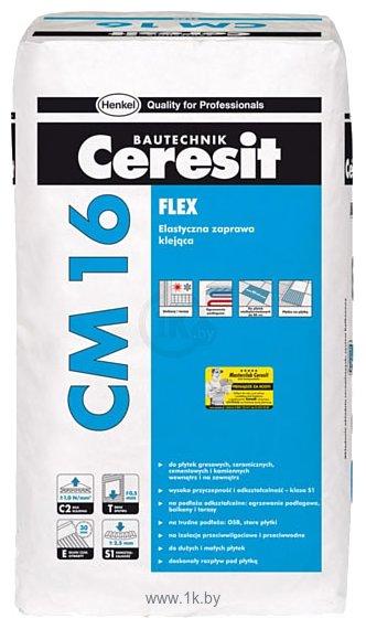 Фотографии Ceresit CM 16. Эластичный клeй для плитки «Flex»