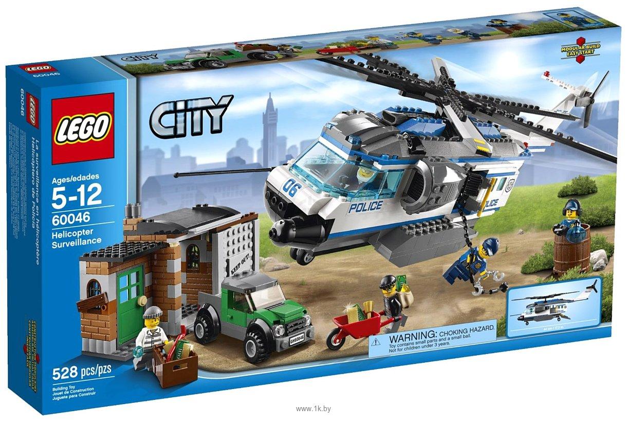 Фотографии LEGO City 60046 Вертолет Наблюдения