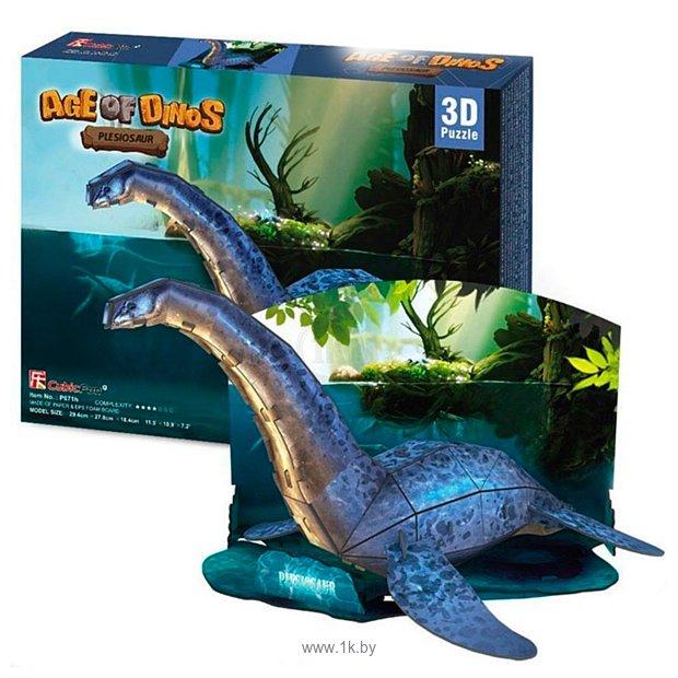 Фотографии CubicFun Эра Динозавров - Плезиозавр P671h