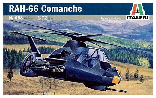 Фотографии Italeri 0058 RAH-66 Comanche