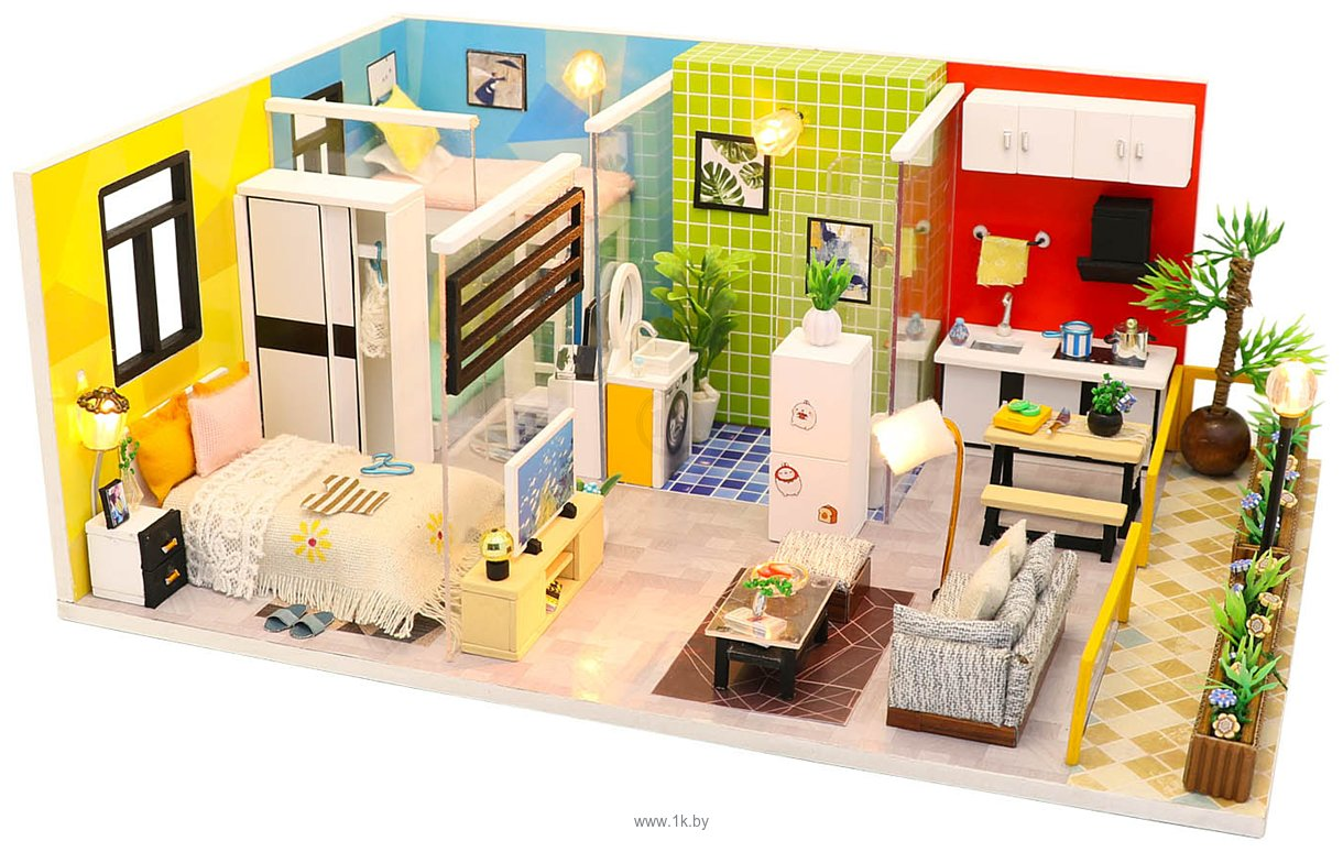 Фотографии Hobby Day DIY Mini House Квартирный вопрос (M043)