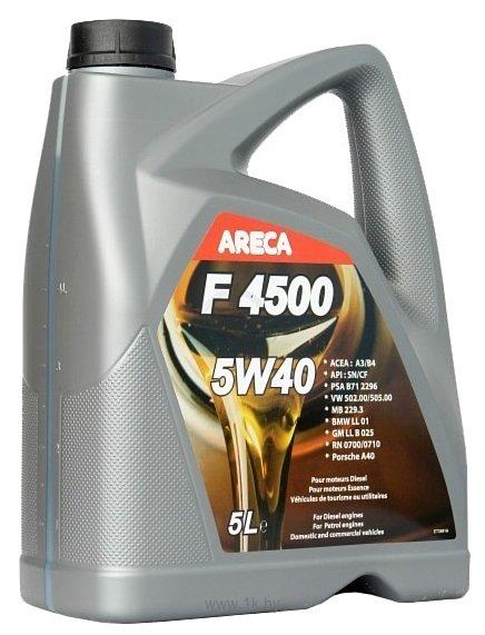 Фотографии Areca F4500 5W-40 5л (11452)