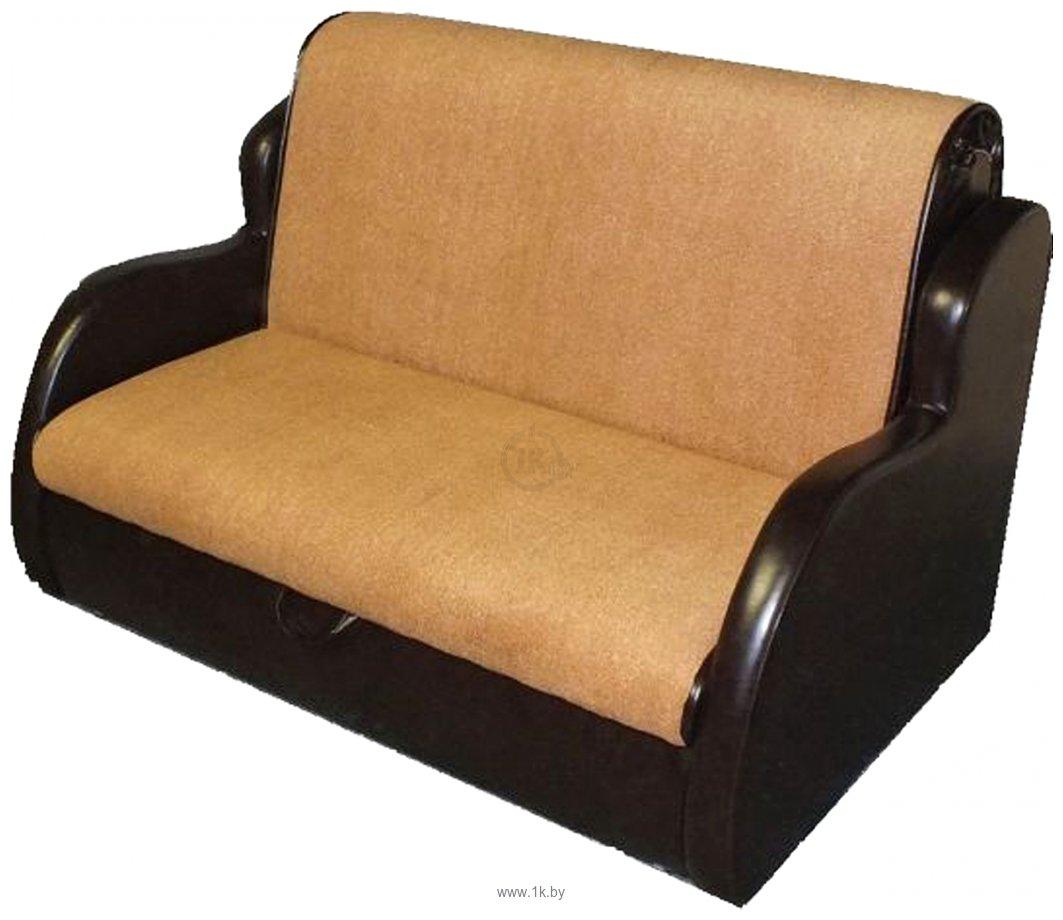 Купить прямой диван мебель-арс атлант - астра кожа 140 см в .