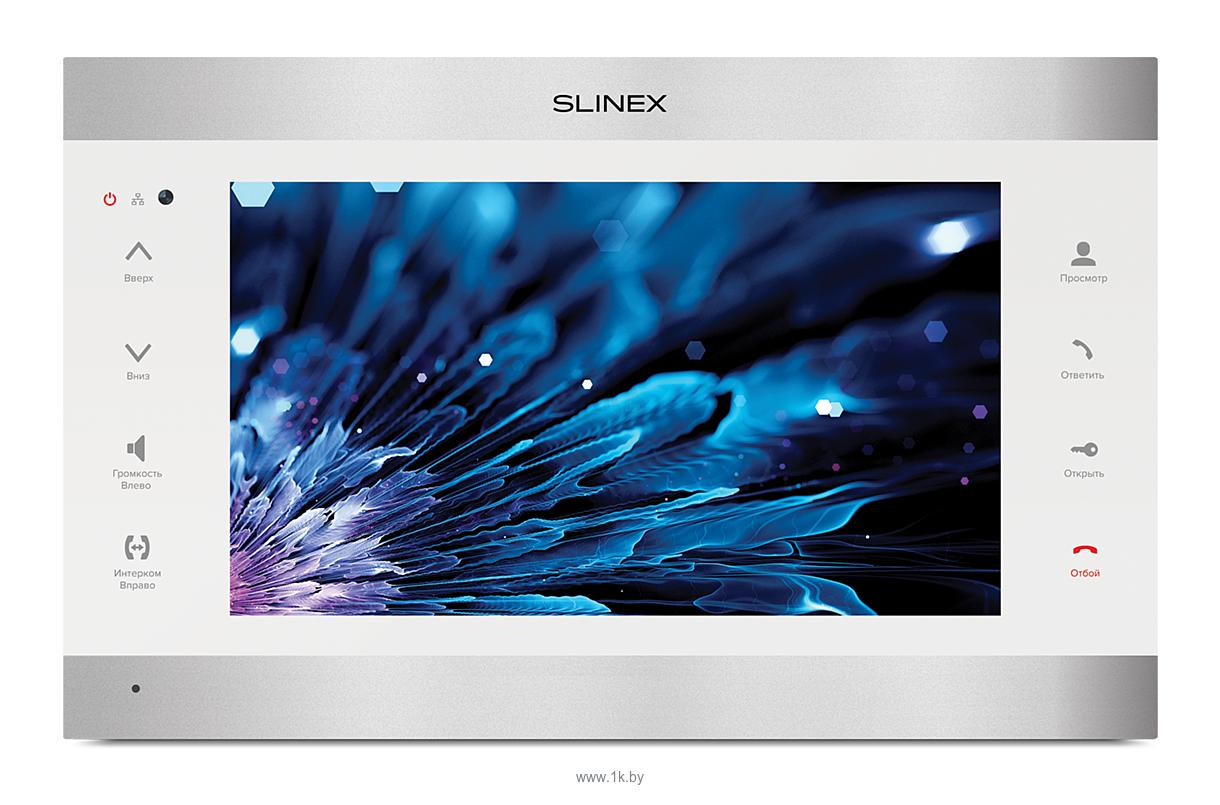 Фотографии Slinex SL-10IPT (серебристый/белый)