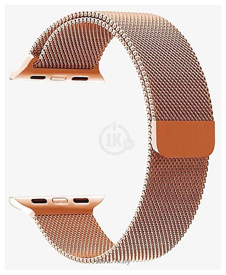Фотографии Miru SG-01 для Apple Watch (розовое золото)