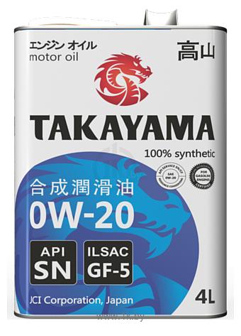 Фотографии Takayama 0W-20 API SN 1л