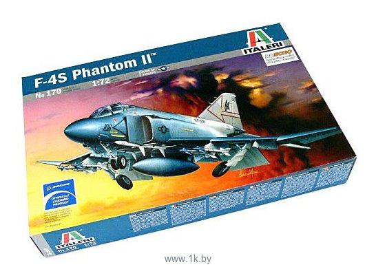 Фотографии Italeri 0170 Истребитель F04S Phantom II