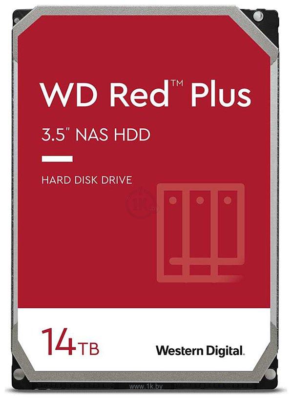 Фотографии Western Digital Red Plus 14TB WD140EFGX