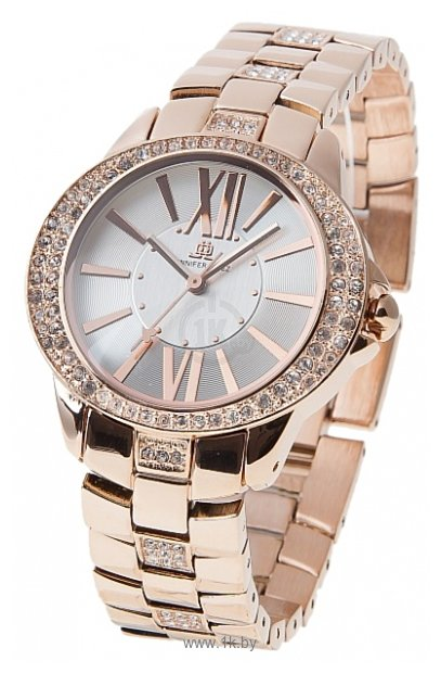 Купить наручные Женские часы JENNIFER LOPEZ, коллекция SUPER STAR, Ref: 2808 SVRG