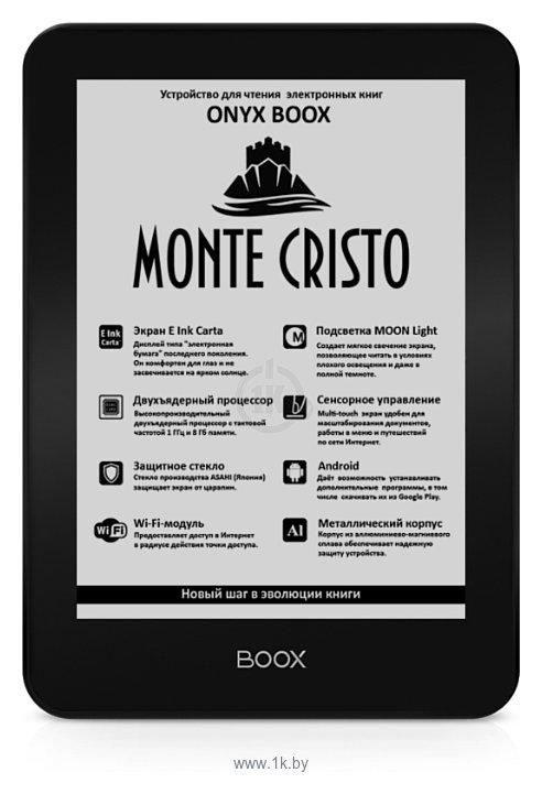 Фотографии ONYX BOOX Monte Cristo