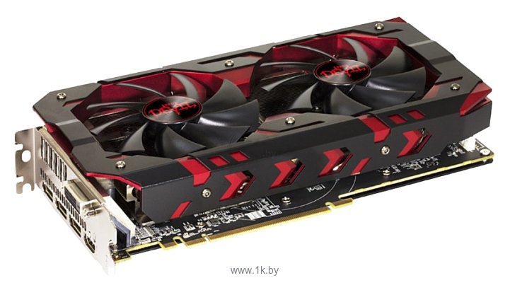 Фотографии PowerColor Radeon RX 580 1380Mhz PCI-E 3.0 8192Mb 8000Mhz 256 bit DVI HDMI HDCP Red Devil