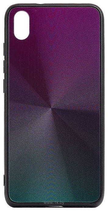 Фотографии EXPERTS SHINY TPU CASE для Xiaomi Redmi 7A (серебристо-фиолетовый)