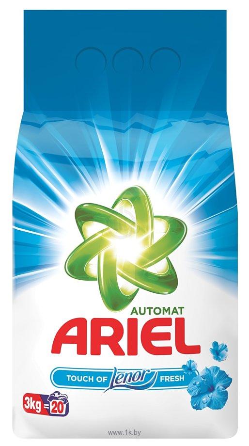 Фотографии Ariel Touch of Lenor Fresh 3 кг