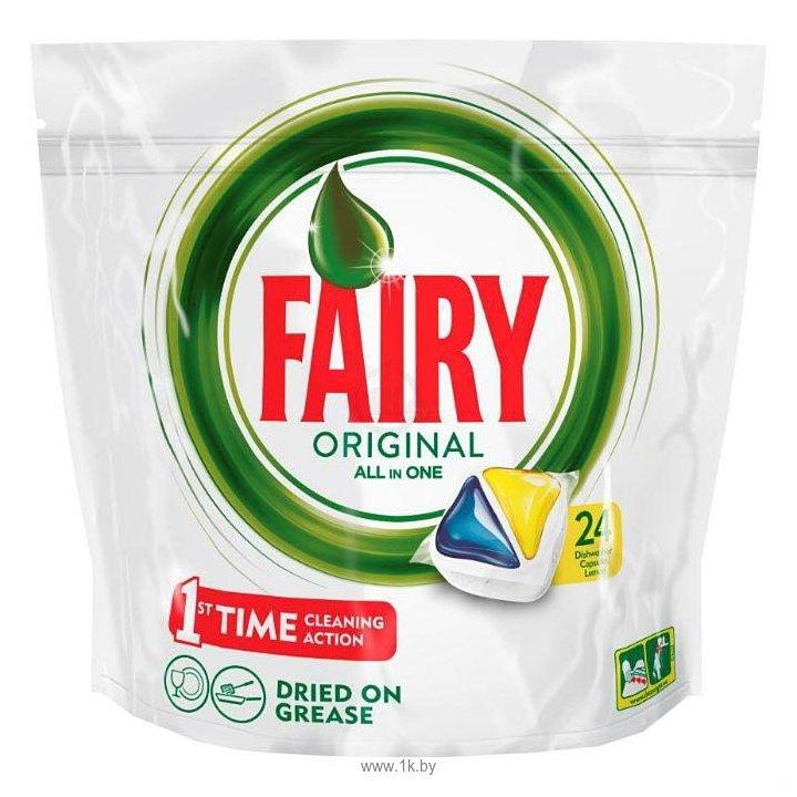 "Фотографии Fairy Original Lemon ""All in 1"" (24 tabs"
