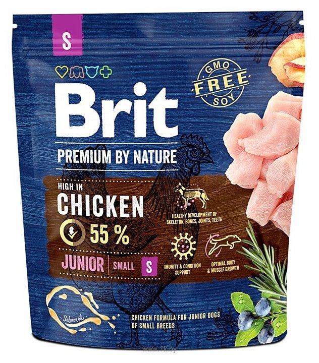 Фотографии Brit (1 кг) Premium by Nature Junior S
