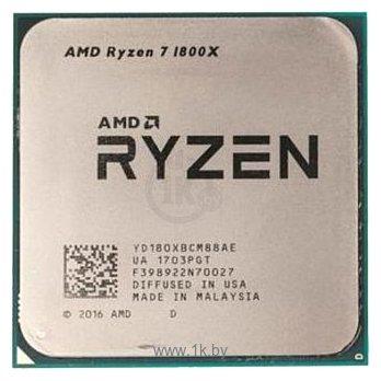 Фотографии AMD Ryzen 7 1800X Summit Ridge (AM4, L3 16384Kb)