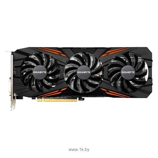 Фотографии GIGABYTE GeForce GTX 1070 Ti 1607Mhz PCI-E 3.0 8192Mb 8008Mhz 256 bit DVI HDMI HDCP GAMING