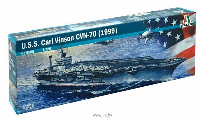 Фотографии Italeri 5506 Американский авианосец U.S.S. Carl Vinson CVN-70