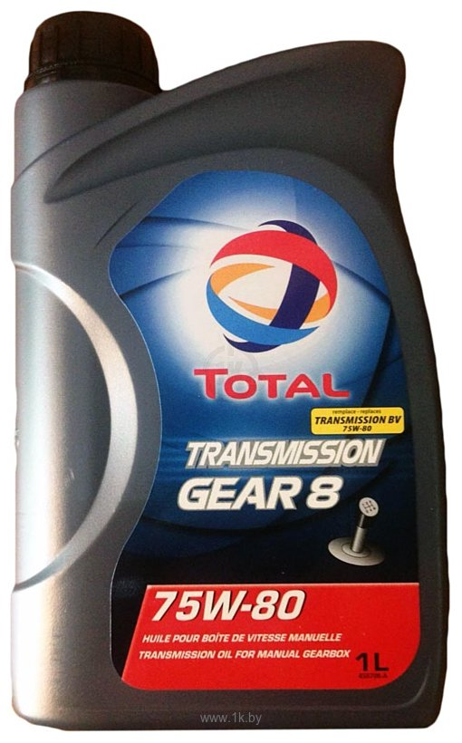 Фотографии Total Transmission GEAR 8 75W-80 1л
