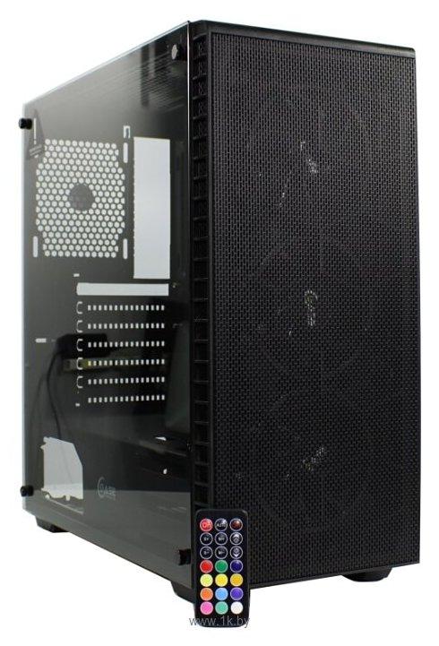 Фотографии PowerCase Attica Mesh S3 ARGB Black