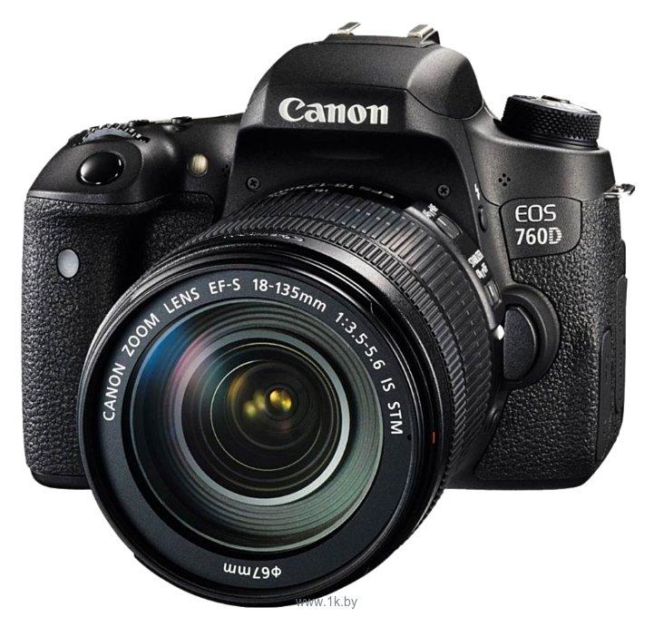 Фотографии Canon EOS 760D Kit