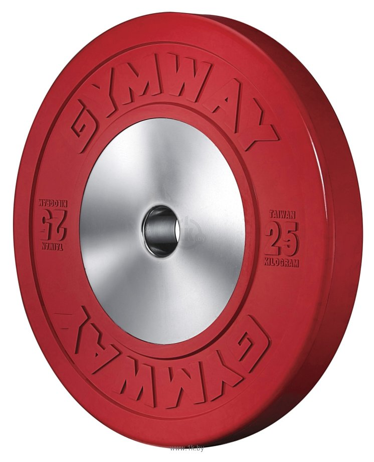 Фотографии Gym Way Olympic Bumper Plate 25 кг