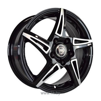 Фотографии NZ Wheels SH661 7x17/5x110 D65.1 ET39 BKF