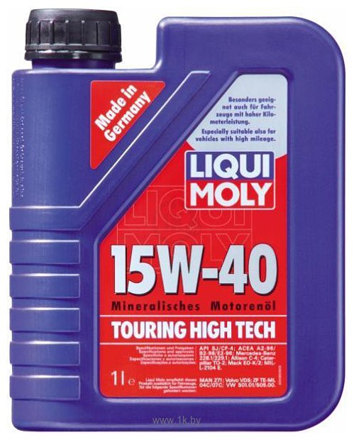 Фотографии Liqui Moly Touring High Tech 15W-40 1л