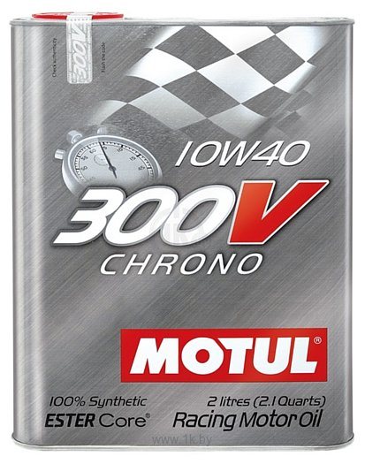 Моторное масло Motul 300 V Chrono 10W40 2л - фото 6