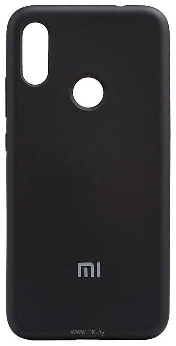 Фотографии EXPERTS SOFT-TOUCH case для Xiaomi Mi A2/Mi 6X (черный)