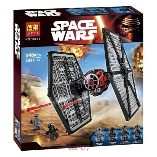 Фотографии BELA Space Wars 10465 Истребитель TIE особых войск Первого Ордена