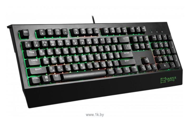 Фотографии HARPER Gaming GKB-25 Black USB