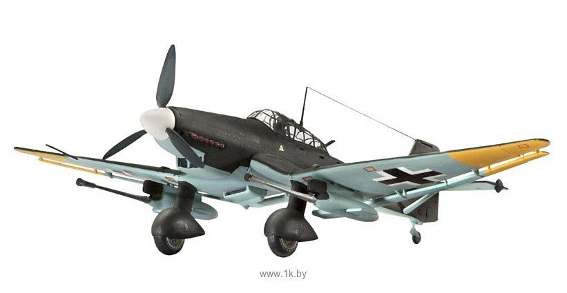Фотографии Revell 04692 Немецкий бомбардировщик Junkers Ju87 G/D Tank Buster