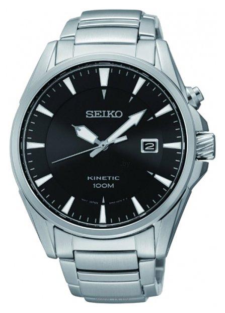 Мужские японские наручные часы в коллекции CS Sports Seiko SKA565P1 серебристый фото - 3