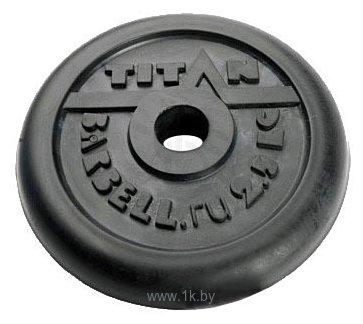 Фотографии Titan Диск 26 мм 2,5 кг