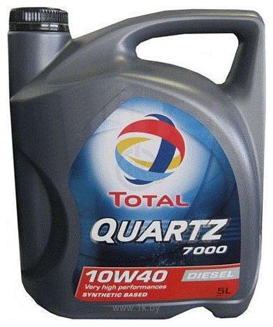 Фотографии Total Quartz Diesel 7000 10W-40 5Л