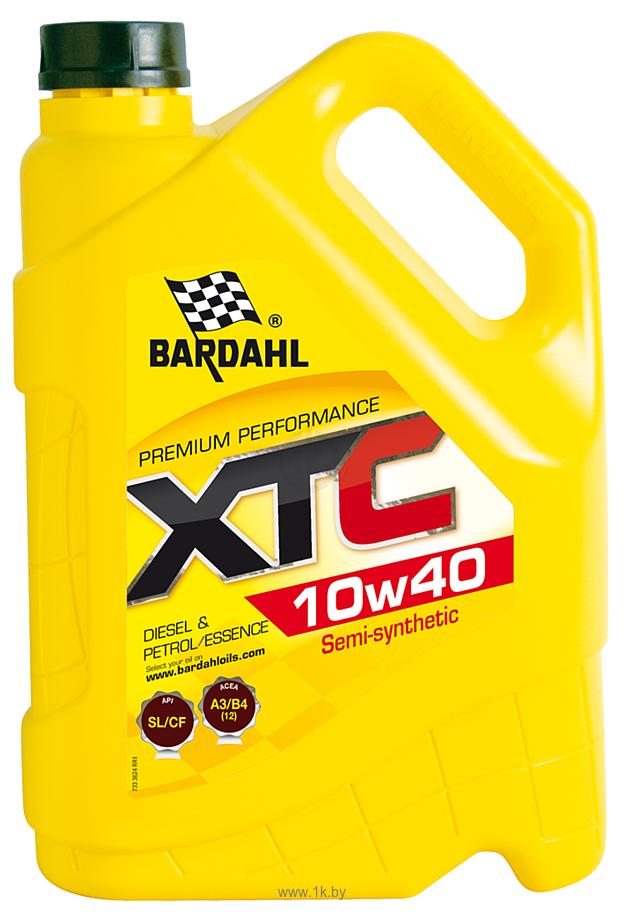 Фотографии Bardahl XTC 10W-40 5л