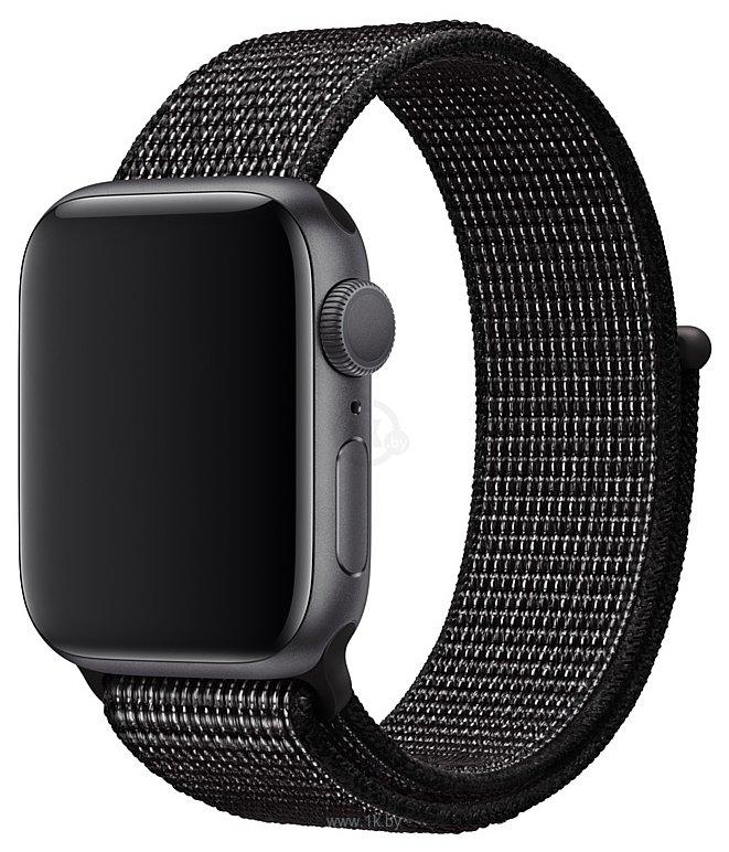 Фотографии Apple Nike из плетеного нейлона 40 мм (черный) MX7Y2