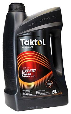 Фотографии Taktol Ultra E-Synth 5W-40 5л