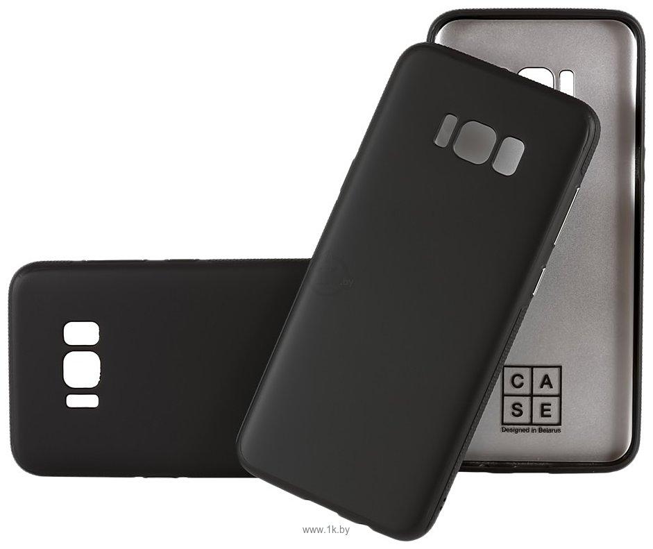 Фотографии Case Deep Matte v.2 для Samsung Galaxy J4 (черный)