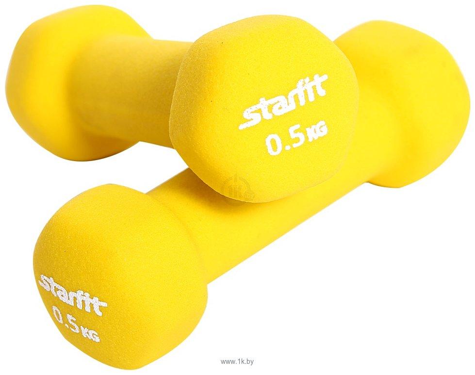 Фотографии Starfit DB-201 0.5 кг (желтый)