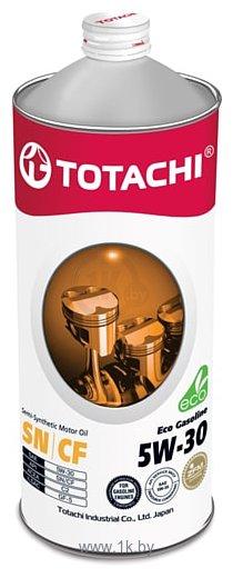 Фотографии Totachi Eco Gasoline Semi-Synthetic SN/CF 5W-30 1л