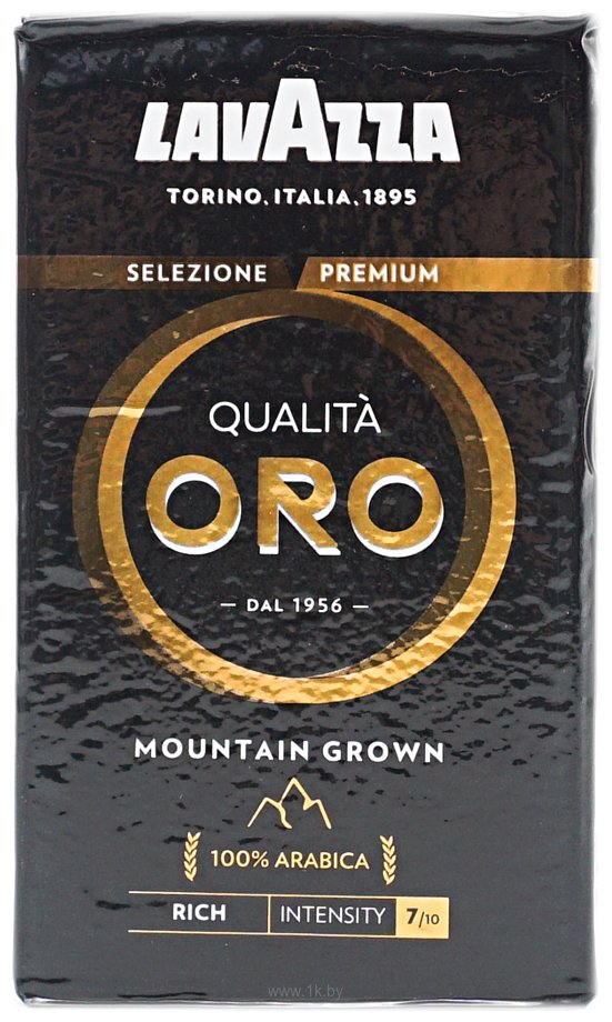 Фотографии Lavazza Qualita Oro Mountain Grown молотый 250 г